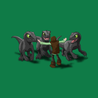 How to Train Your Dinosaur t-shirts