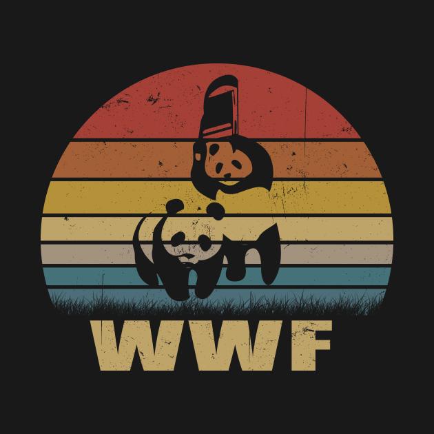 WWF Panda Jiu-Jitsu Vintage