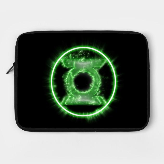 Green Lantern Full Power Symbol Dc Comics Green Lantern Laptop