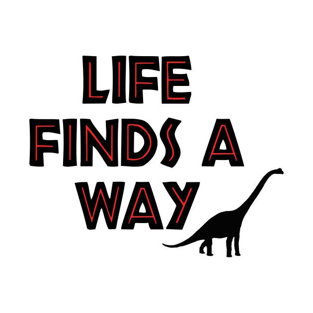 Jurassic Park - Life Finds a Way