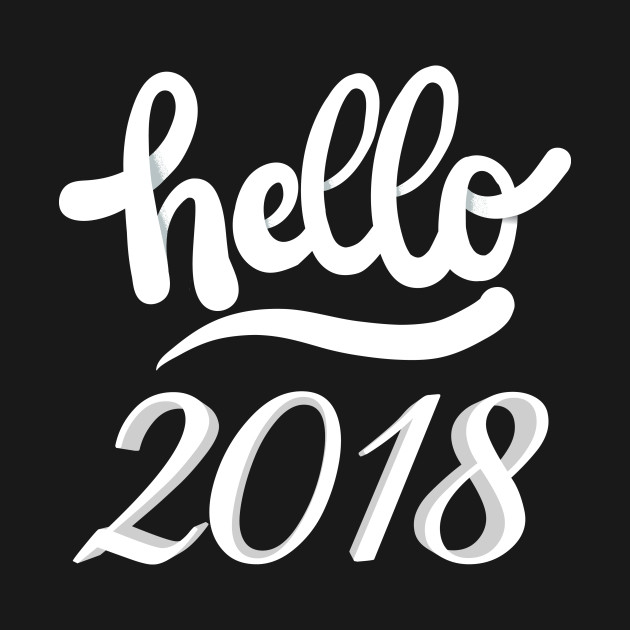 Hello 2018 Shirt, New Years Shirt, New Years Eve Shirt, Women's New Years Eve Party Shirt, Off Shoulder, Lightweight Sweater, 2018 T-Shirt