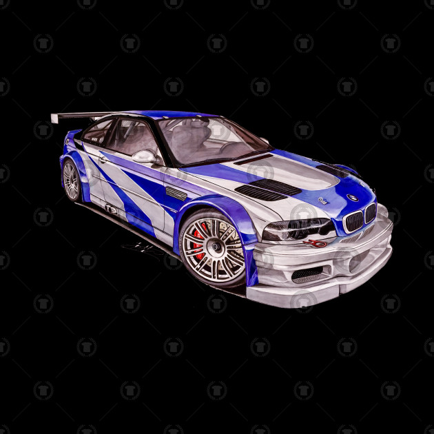 Bmw M3 Gtr Nfs Most Wanted Perfect Enough To Be Auntie Awesome