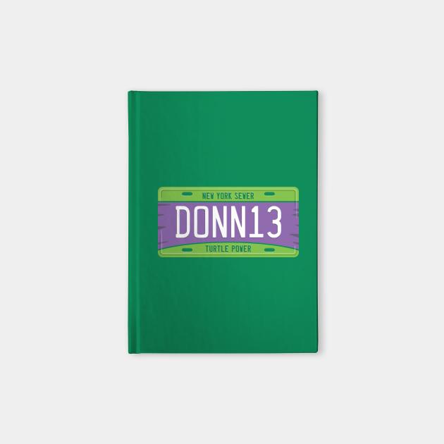 Donatello License Plate
