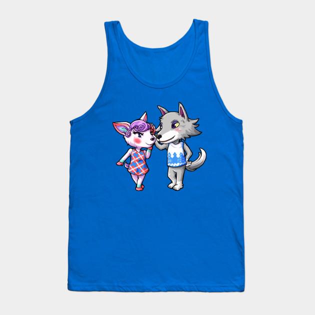 Animal Crossing Fang And Diana Animal Crossing Villagers Tank