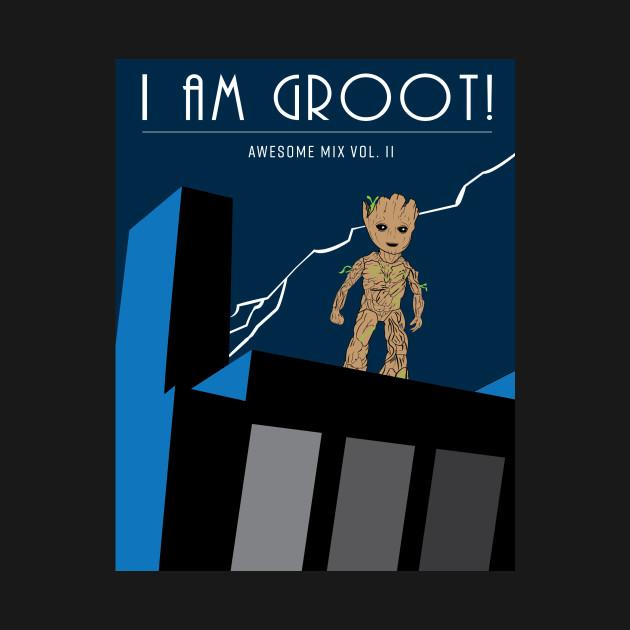 Baby Groot Knight