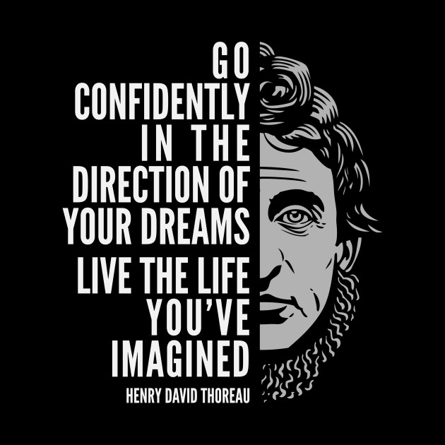 Henry David Thoreau Quotes Simple Henry David Thoreau Quote Live The Life You've Imagined Henry