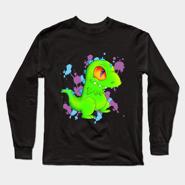 9f83dda3f84 Tiny Reptar - Nickelodeon Show - Long Sleeve T-Shirt