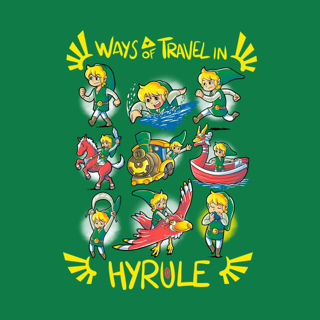Ways of travel in Hyrule