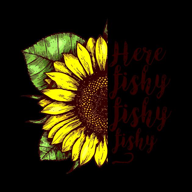 Here Fishy Fishy Fishy Sunflower