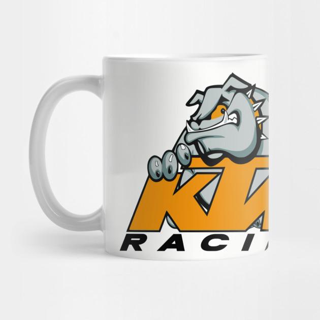 321b519b4 KTM Racing Bulldog - Ktm - Mug   TeePublic