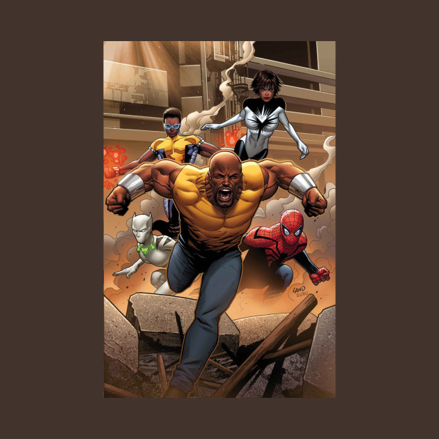 LUKE CAGE: Mighty Avengers