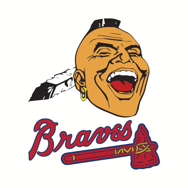Screaming Indian Braves Shirt