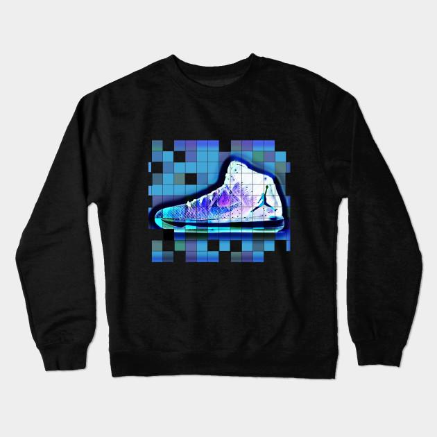 5dccfa02f61f Jordan shoes Tshirt Design Gift Idea - Michael Jordan - Crewneck ...