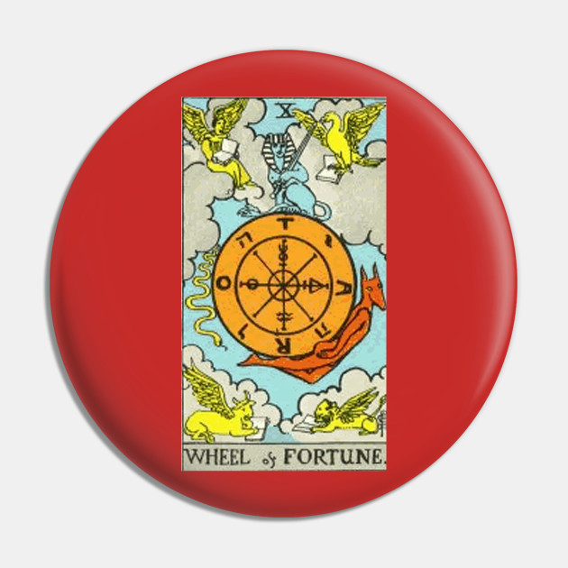 Wheel of Fortune Tarot Pin