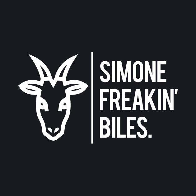 Simone Biles Is The GOAT.