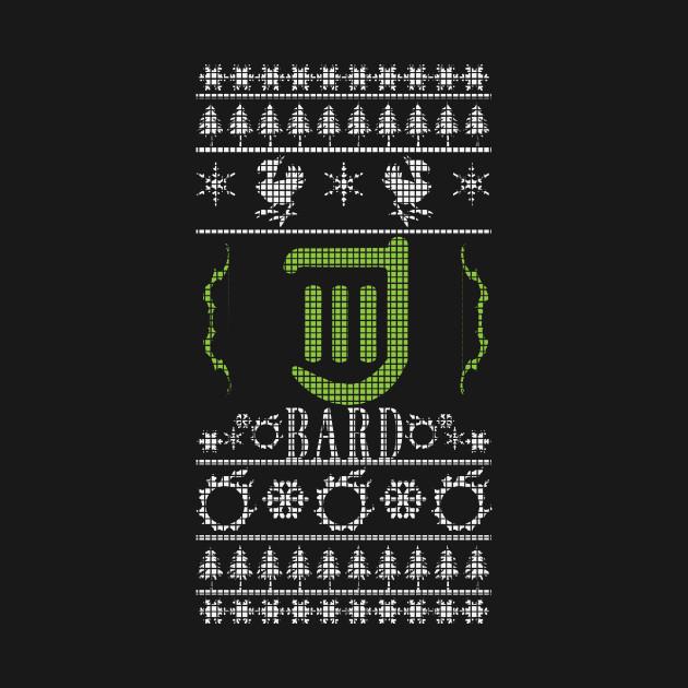 Final Fantasy XIV Bard Ugly Christmas Sweater