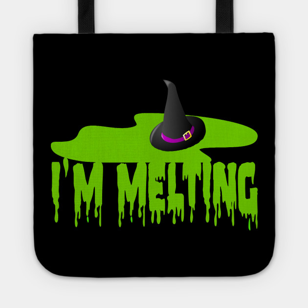 Im Melting Wicked Witch Of The West The Wizard Of Oz Tote
