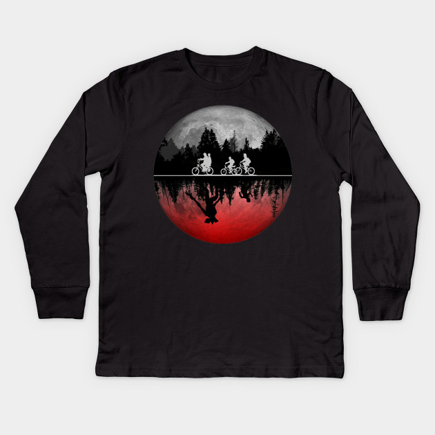 Stranger things illustrated graphic t shirt