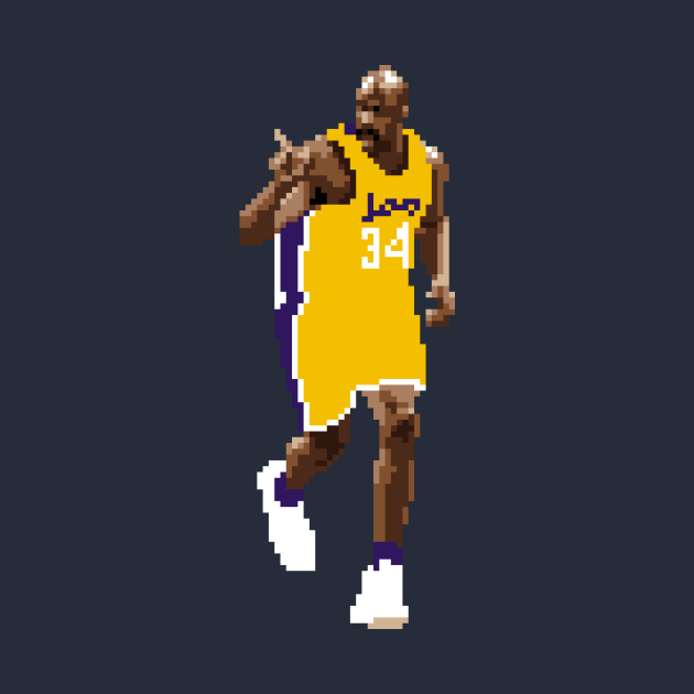 Shaquille O'Neal Pixel Finger