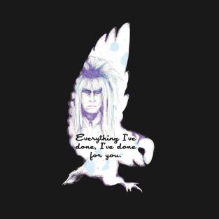 Labyrinth Owl t-shirts