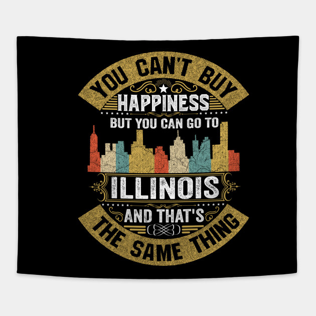 Illinois State Flag I Love Illinois Strong Native Illinois Home Map
