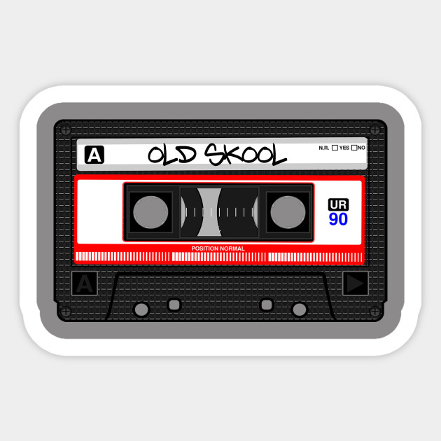3797aeb27f79d Old Skool Tape. - Tapes - Sticker