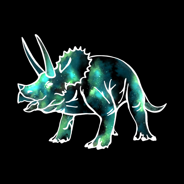 Triceratops from space