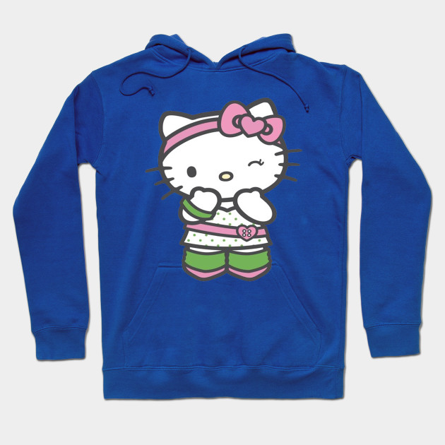 Hello kitty hello kitty hoodie teepublic for Hello kitty t shirt design