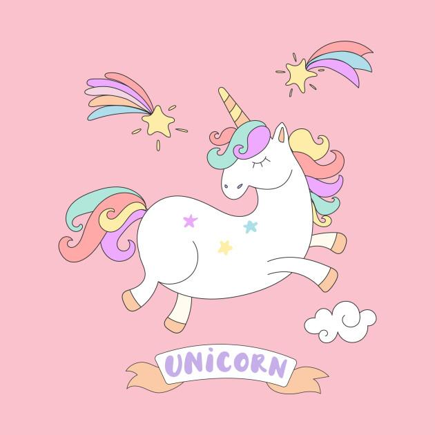 Cute Jumping Colorful Unicorn - Unicorn - Onesie | TeePublic