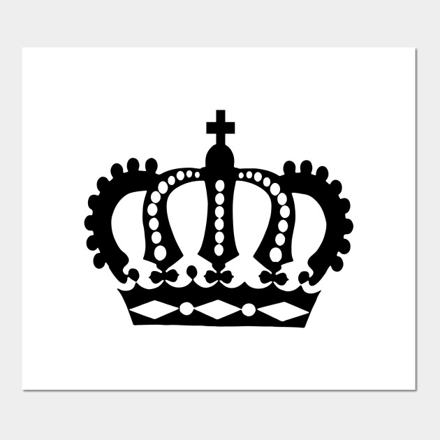 Limited Edition Exclusive Royal Crown Silhouette Royal Crown Silhouette Affiche Et Impression D Art Teepublic Fr The best selection of royalty free crown silhouette vector art, graphics and stock illustrations. limited edition exclusive royal crown silhouette