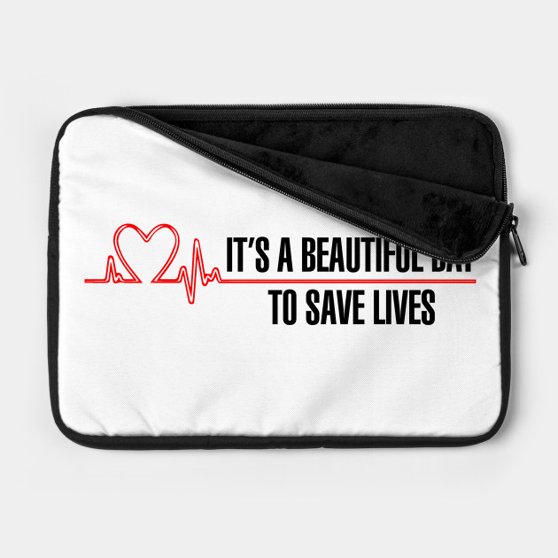 "Grey's Anatomy - ""It's a beautiful day to save lives!"""