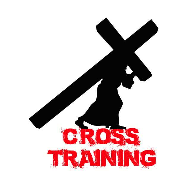 Cross Training Jesus Gym Work Out Shirt