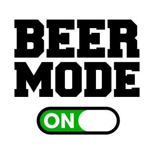 Beer Mode t-shirts