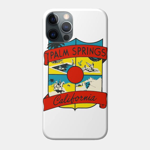 Vintage Palm Springs Decal