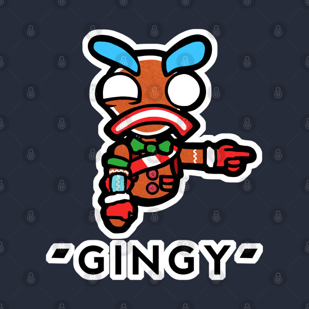 Lazarbeam - Pointing gingy cartoon