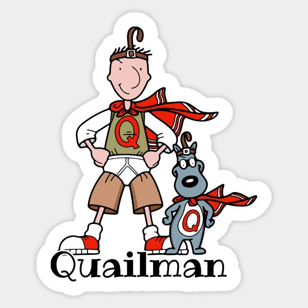 Quailman - Doug - Sticker | TeePublic Quailman