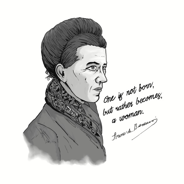 Beauvoir Quote