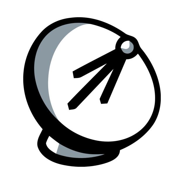Satellite Dish Emoticon