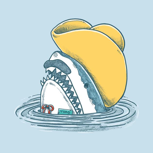 Funny Hat Shark