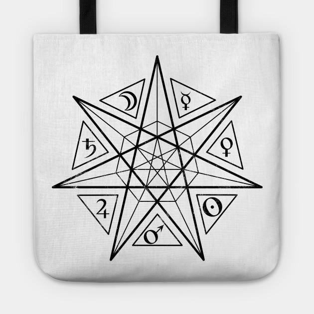 Septagram Alchemy 7 Pointed Star