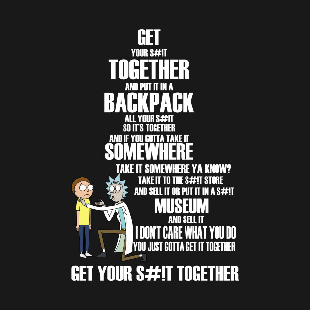Rick And Morty Quotes rick and morty quotes Rick and Morty t shirt ricky morty shirts  Rick And Morty Quotes