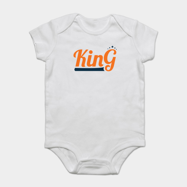 1b9a91b40ba King Orange Cute Design Gift for Boyfriend Brother Father Uncle Grandfather  Onesie