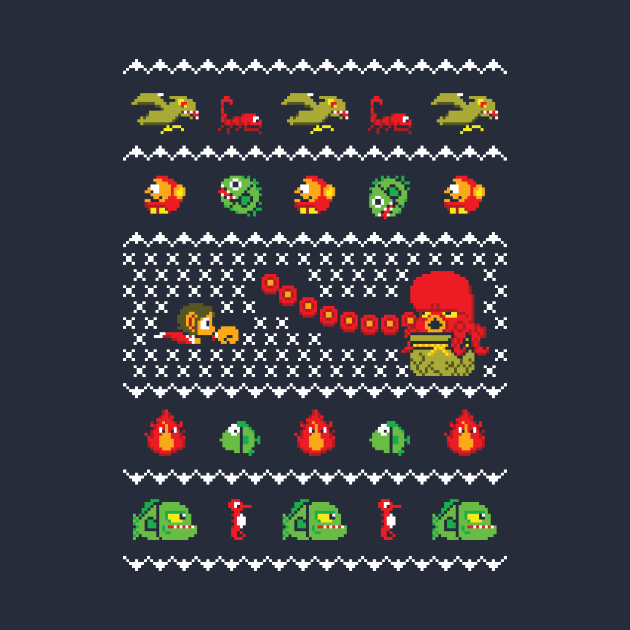 Alex Kidd In Christmas World - Gaming Ugly Sweater, Christmas Sweater & Holiday Sweater