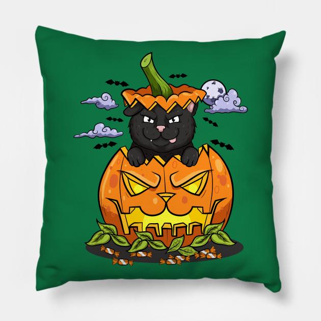 Kitty black halloween