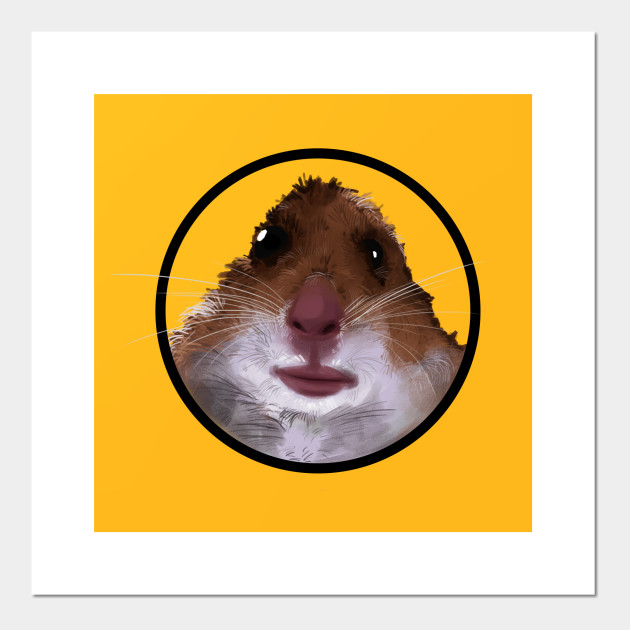 Hamster Meme - Hamster Meme - Affiche et Impression d'art | TeePublic FR