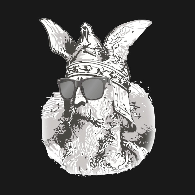 Viking with Sunglasses