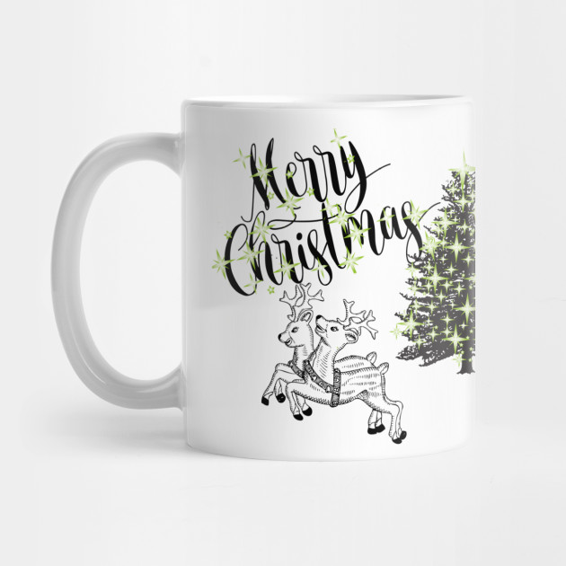 Christmas deer t-shirt Christmas shirts Marry Christmas Mug