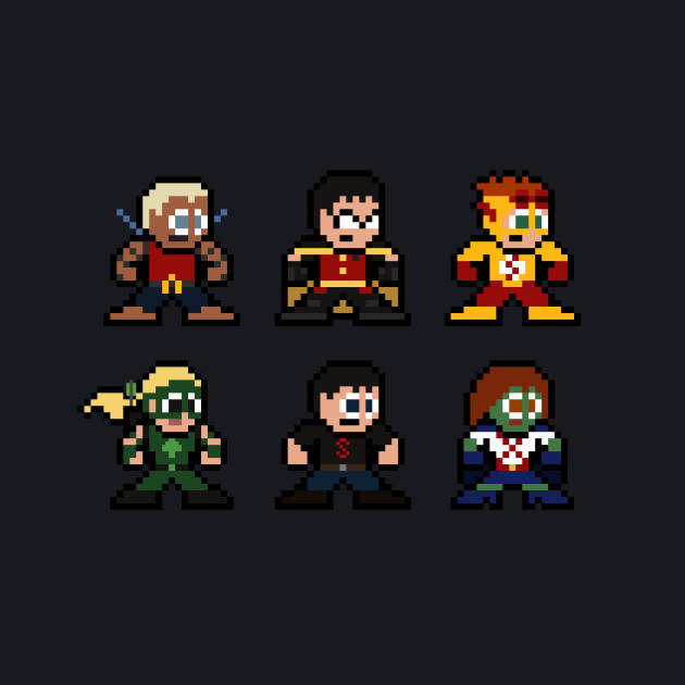 8-bit Young Justice
