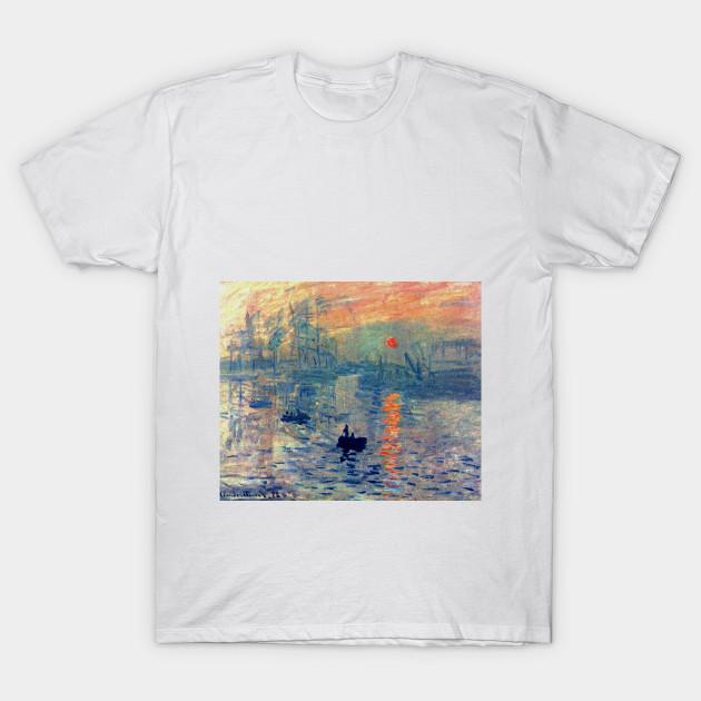 produits de commodité meilleur prix pour emballage élégant et robuste Impression, Sunrise by Claude Monet (1872) by naves