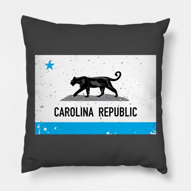Carolina Republic Flag Carolina Republic Pillow Teepublic